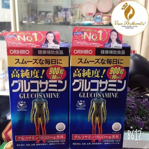 Viên uống Glucosamin Orihiro 1500mg 950v tặng 50 viên của Nhật Bản ảnh 2