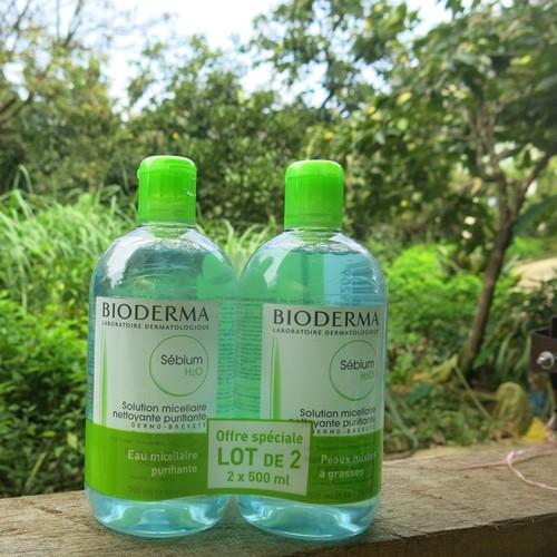 Nước tẩy trang Bio derma xanh 500ml - 5082516 , 10877318 , 15_10877318 , 450000 , Nuoc-tay-trang-Bio-derma-xanh-500ml-15_10877318 , sendo.vn , Nước tẩy trang Bio derma xanh 500ml