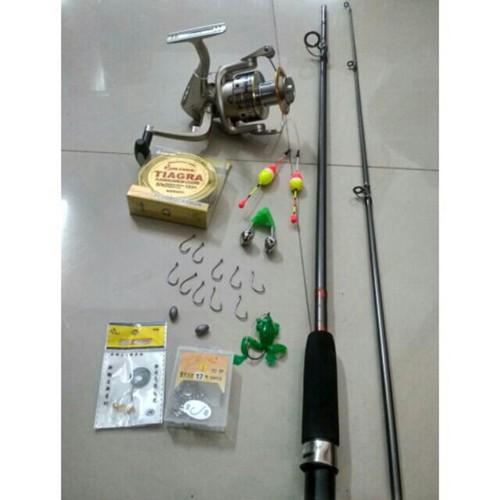 Combo bộ cần câu shimano 2 khúc đặc, máy câu yolo TFB 3000