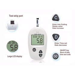 Máy đo đường huyết Sinocare chính hãng ĐỨC tặng 50 que thử và 50 kim