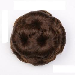 Búi tóc giả hoa trà TH142