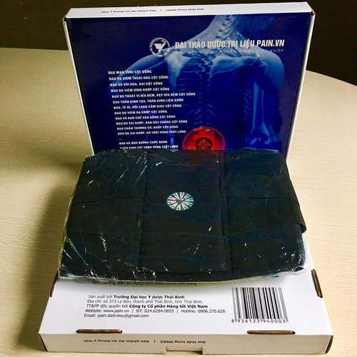 COMBO 2 Đai trị đau cột sống, Tặng 1 túi muối hồng Himalaya 500g