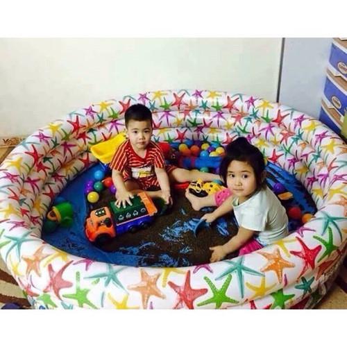 Bể bơi tự bơm xếp gọn tại nhà