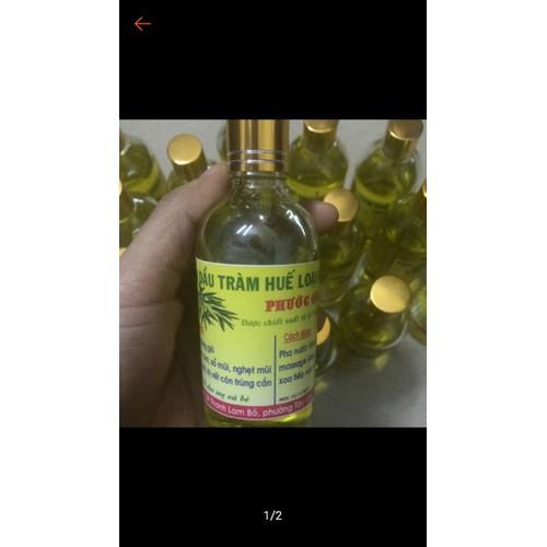 tinh dầu tràm phước quảng - quầy thuốc mão huyền