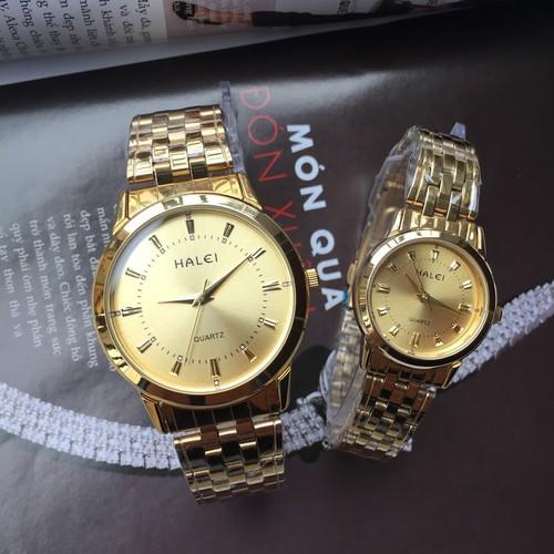 Đồng hồ đôi Halei HL502M chống xước, chống nước