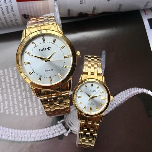 Đồng hồ đôi Halei 502M chính hãng vàng