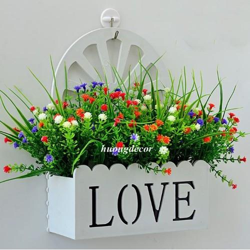 Giỏ hoa treo tường love - 10468672 , 10907093 , 15_10907093 , 179000 , Gio-hoa-treo-tuong-love-15_10907093 , sendo.vn , Giỏ hoa treo tường love
