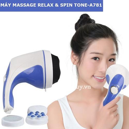 Máy massage cầm tay 5 đầu xua tan mệt mỏi