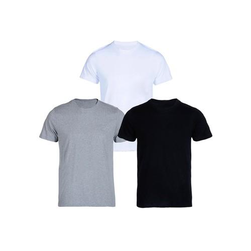 Bộ 3 áo thun nam cổ tròn FREE SHIP tặng 1 quần lót trị giá 30K