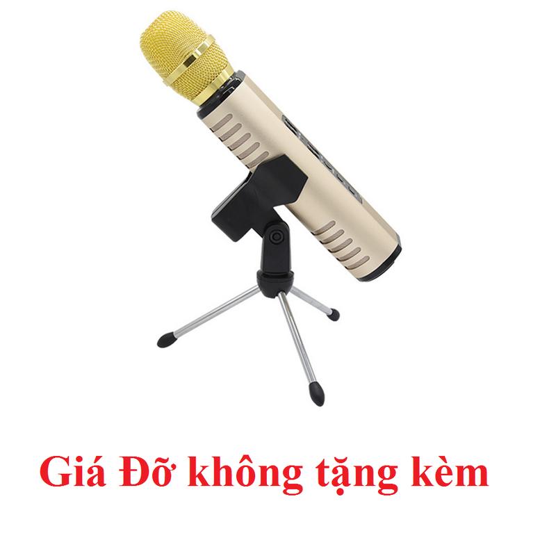 Micro Kèm loa Karaoke Bluetooth cao cấp PKCB BM06 cắm thẻ nhớ 16