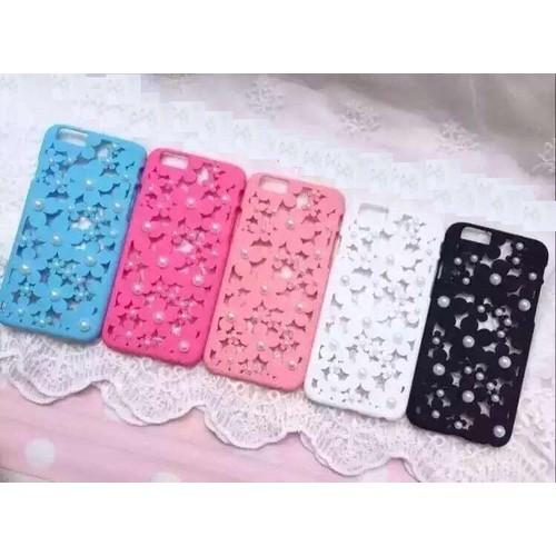 Ốp lưng iPhone 5 - 5s hoa cúc nổi