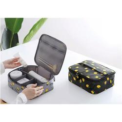 [Loại tốt] Túi đựng mỹ phẩm, vật dụng cá nhân du lịch chanh vàng