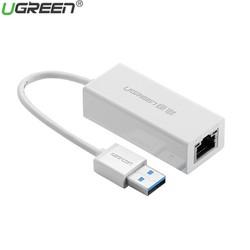 Cáp Chuyển USB 3.0 sang cổng mạng Lan 1000Mbps Ugreen 20255