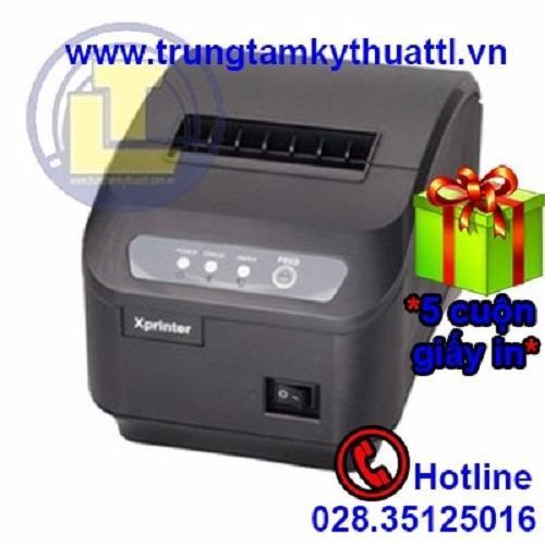 Máy in hoá đơn khổ 80mm XPrinter Q200II Cổng LAN