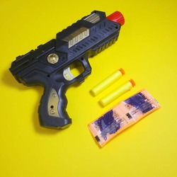 Súng đồ chơi bắn đạn nước, đạn xốp
