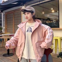 áo khoác kaki nữ form rộng