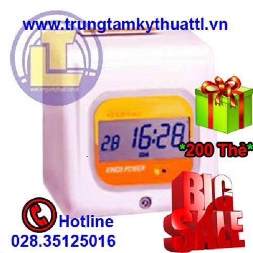 Máy chấm công thẻ giấy KINGS POWER KP-670  Đồng hồ điện tử - 10657536 , 10587222 , 15_10587222 , 5810000 , May-cham-cong-the-giay-KINGS-POWER-KP-670-Dong-ho-dien-tu-15_10587222 , sendo.vn , Máy chấm công thẻ giấy KINGS POWER KP-670  Đồng hồ điện tử
