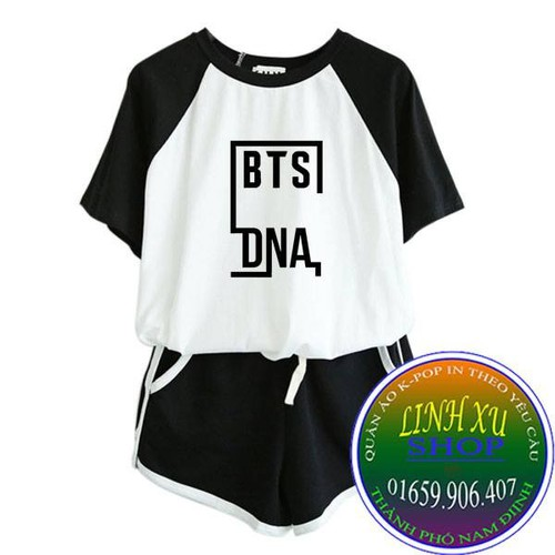 Set quần áo BTS DNA