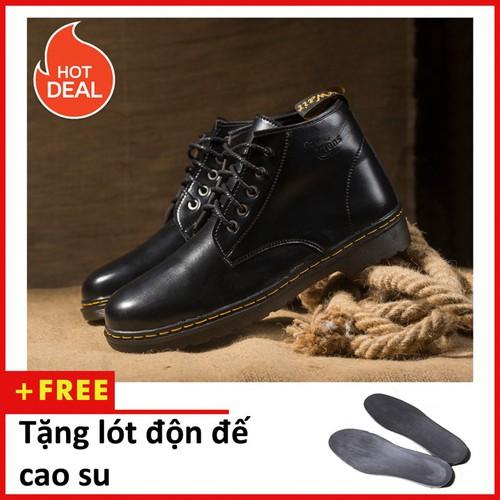 Giày boot nam - Giày boot nam cổ lửng M354-DD-DEN