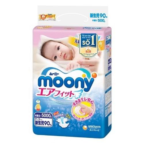 Tã dán nb90 moony nhập khẩu