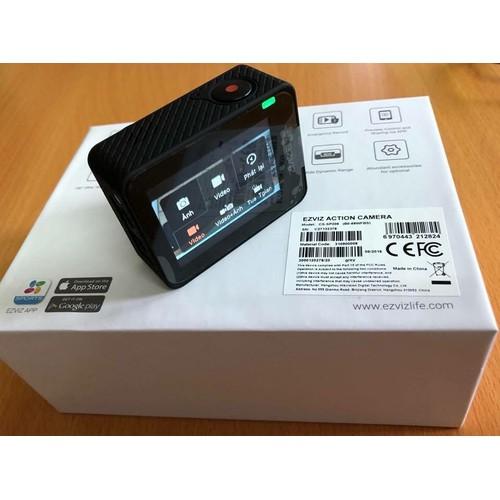 Nhập mã cb_t111 giảm 10phần trăm camera hành trình ezviz cs-sp206 - tặng gậy selfie ezviz + thẻ nhớ 32g
