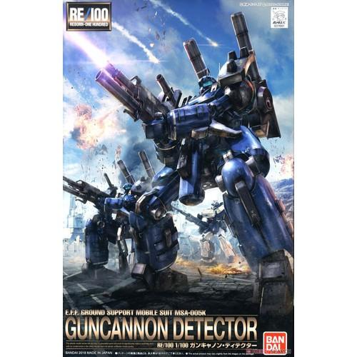 Gundam bandai re/100 guncannon detector uc mô hình nhựa đồ chơi lắp ráp anime nhật tỷ lệ 1/100