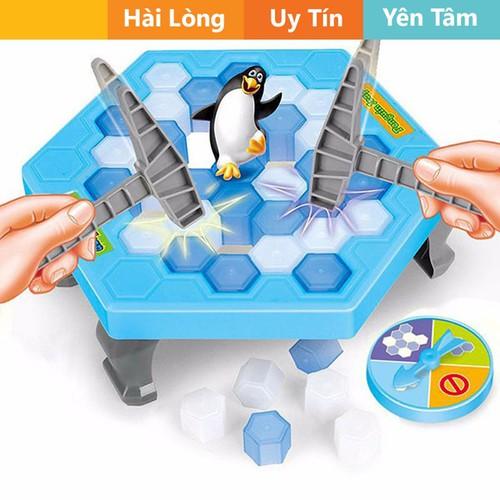 Bảng đồ chơi bẫy chim  cánh cụt cho bé