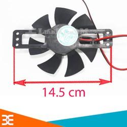 [Tp.HCM] Quạt Bếp Hồng Ngoại 18VDC Loại To 14.5CM