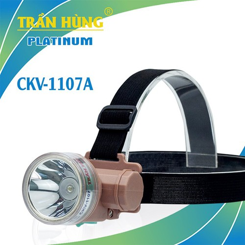 Đèn pin đội đầu CKV-1107A [chạy pin 18650]