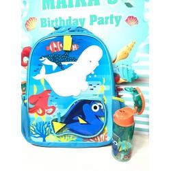 Balo Dory Disney - Tặng kèm túi đựng thức ăn hoặc bình nước Nemo