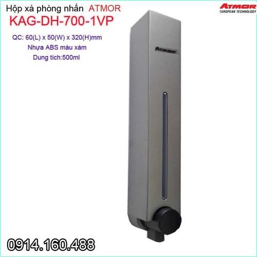Hộp nhấn xà phòng Atmor, Bình xịt xà phòng KAG-DH700.1VP - 4290926 , 10478748 , 15_10478748 , 538000 , Hop-nhan-xa-phong-Atmor-Binh-xit-xa-phong-KAG-DH700.1VP-15_10478748 , sendo.vn , Hộp nhấn xà phòng Atmor, Bình xịt xà phòng KAG-DH700.1VP