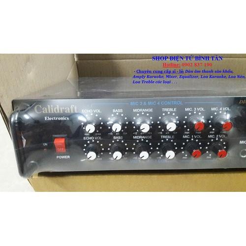 Vang số - mixer karaoke calidraft 2 line
