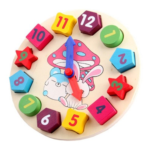 Đồ chơi đồng hồ nhận biết số và giờ cho bé