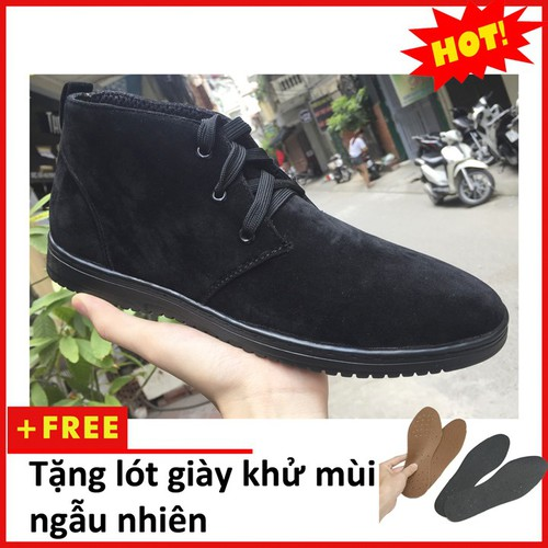 Giày boot nam - Giày boot nam chukka buck M443-L-DENBUCK