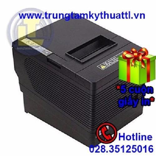 Máy in hóa đơn khổ 80mm Xprinter Q260iii 3 cổng kết nối