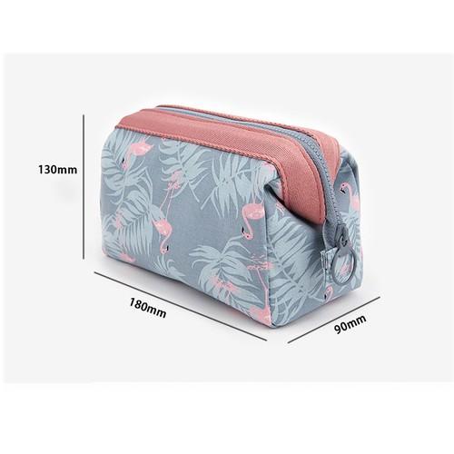 Túi đựng mỹ phẩm hoa văn Brahma Flamingo - 4290380 , 10477726 , 15_10477726 , 60000 , Tui-dung-my-pham-hoa-van-Brahma-Flamingo-15_10477726 , sendo.vn , Túi đựng mỹ phẩm hoa văn Brahma Flamingo
