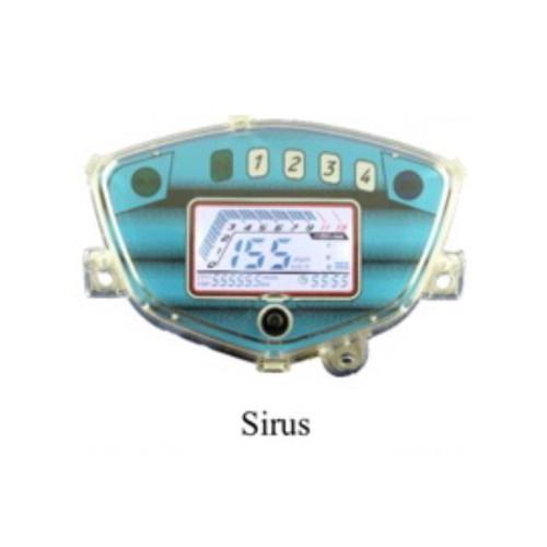 Đồng Hồ điện tử LED xe Sirius Exciter2010 có sơ đồ gắn dây