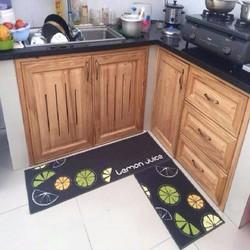 Thảm bếp đẹp - Combo 02 tấm thảm nhà bếp...