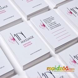 Danh thiếp giấy gân, giấy mỹ thuật - In nhanh namecard