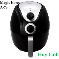 Nồi chiên không dầu Magic Korea A78 - 4 lít - Màu Đen
