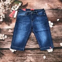 quần jean nữ lửng có quát nhẹ