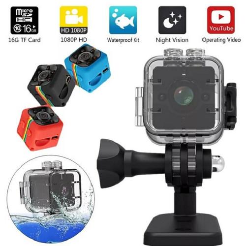 Camera mini siêu nhỏ SQ12 - Góc quay siêu rộng - Chống nước