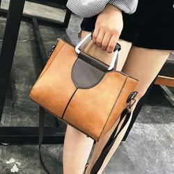 Túi xách da mềm cao cấp quai nhôm sang trọng hàng nhập khẩu Quảng Châu