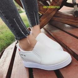 Giày Nữ tăng chiều cao 5cm mẫu siêu mới