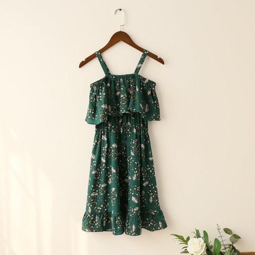 Đầm Nữ Mẫu Mới Siêu Hot Chất Đẹp Sodoha DM56299X Màu Xanh