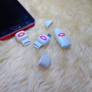Đầu đọc thẻ nhớ cho điện thoại cổng Micro USB - PVN43 thumbnail