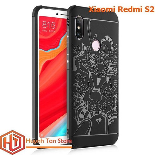 Ốp lưng vân Rồng cho Xiaomi Redmi S2