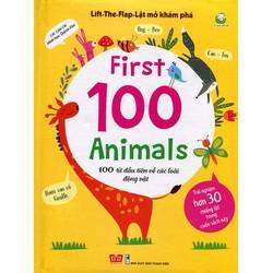 Lật Mở Khám Phá First 100 Animals -  Các Loài Động Vật