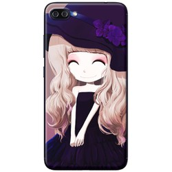 Ốp lưng nhựa dẻo Asus Zenfone 4 Max Pro ZC554KL Cô gái 16
