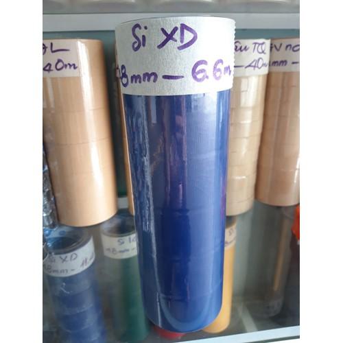 Băng keo Simili xanh dương 4.8cm 6 cuộn